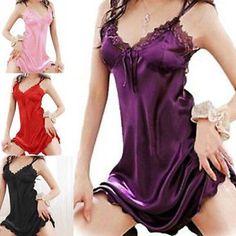 Women Sexy Sleepwear from ebay