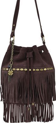 Lucky Brand Nirvana Drawstring Chocolate - #fall l #fall #style #wiw #outfitideas #outfits #falloutfits #accessories