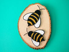 The bees knees! I had come up with this idea last minute for a gallery I had participated in themed Flora and Fauna- and what a wonderful idea it turned out to be! Another piece that has received tremendous feedback and I couldnt be more thrilled This piece comes equipped with a
