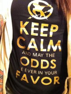 Let's be clear and say that I'm in no way obsessed with the Hunger Games. I do, however, want this shirt, I think.