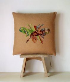 UNIQUE Needlepoint French Napoleonic Bee by Retrocollects on Etsy £45 https://www.etsy.com/shop/Retrocollects