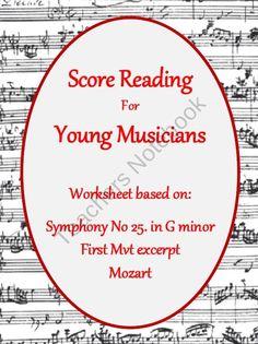 Music Score Reading  product from MusicTeacherResources on TeachersNotebook.com