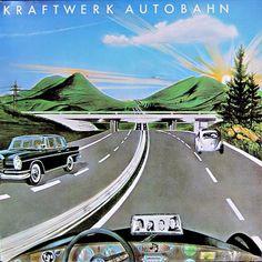 Autobahn (1974) by Kraftwerk  recrd.com #kraftwerk #autobahn #music #vinyl #electronic #synthpop #edm #tbt #synth #dance #party #pop #photo #me #art #follow #electropop #classic #house #germany #krautrock #recrd
