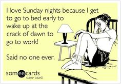 Did everyone have a #SundayFunday? Good! Now, we can do this! We can survive the #Sunday night blues!