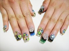 2013 Trends Fashion To Your Finger tips Style Sections Music Nail Art, Music Nails, Glam Nails, Beauty Nails, Concert Nails, Japanese Nail Art, Art Pages, Manicure, Nail Designs