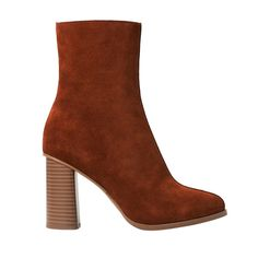 Mango suede leather ankle boot, $80 mango.com