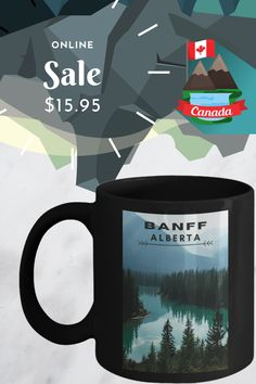 unique coffee cups for anyone wanting to gift or enjoy a beautiful coffee mug  #cupcoffee #ceramicmugsunique Banff Alberta, Ceramic Mugs, Coffee Cups, Unique, Gifts, Travel, Beautiful, Pottery Mugs, Coffee Mugs