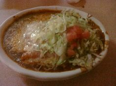 Mexican Villa, Burrito Enchilada Style. My most favorite food and mexican restaurant ever!