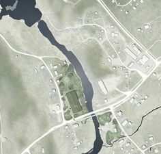 Image 6 of 7 from gallery of Young Architects Win First Prize for Museum of Forest Finn Culture in Norway. Site Plan