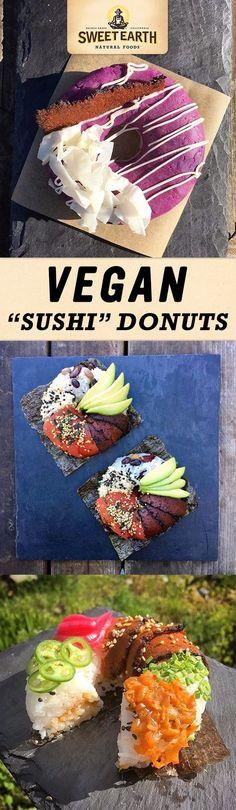 vegan sushi donut