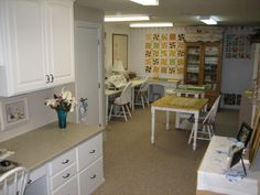 office and sewing room of Linda Cates