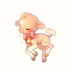 A cow named Toffee! Cute Kawaii Animals, Cute Animal Drawings Kawaii, Cute Little Drawings, Cute Cartoon Drawings, Cute Little Animals, Kawaii Art, Kawaii Illustration, Japon Illustration, Cow Drawing