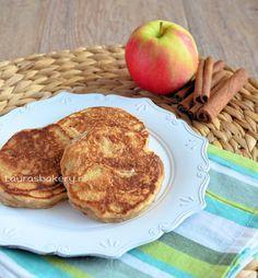 Appel-kaneel (Apple-cinnamon) pancakes - met Elstar OER-fruit