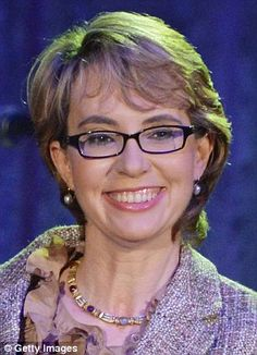 Gabby Giffords - what an inspiration! It took so much courage to stand up to the man who forever changed her life. We can all draw strength from this amazing woman.