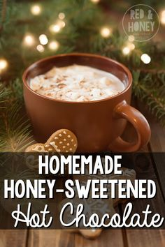Hot chocolate from a mix is full of sketchy ingredients, so I make my own. This recipe is super easy and tastes so decadent! Could easily be done in the crockpot!