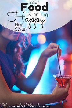 As a personal finance blogger, food spending is a big hot button issue and rightfully so because after your home expenses, your second largest monthly expense is typically food.  http://financially-blonde.com/your-food-spending-happy-hour-style/ Beauty DIY, save money on beauty