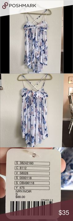 💜Free People Top 💜 BRAND NEW.Lovely Free People top. Extremely dainty and feminine. Never worn. Free People Tops