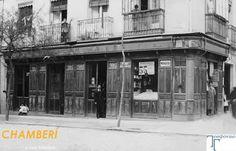Historias matritenses: Resultados de la búsqueda de chamberí Tienda de ultramarinos. Calle de Santa Engracia, 55. Año 1914.  Read more: http://historias-matritenses.blogspot.com/search?q=chamber%C3%AD#ixzz3DCKkUfwX