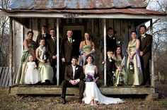 Both families on Mose's Cabin Real Weddings, Families, Cabin, Photography, Ideas, Cabins, Cottage, Photograph, Thoughts