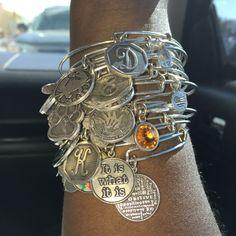 😍 Cute Jewelry, Jewelry Accessories, Body Chains, Alex Ani, Alex And Ani Bracelets, Arm Party, Jewerly, Fashion Jewelry, Bangles