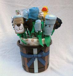Cute Boy baby shower gift idea!