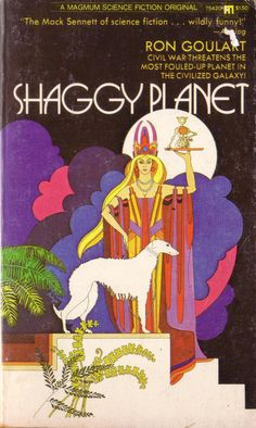 Shaggy Planet by Ron Goulart. Magnum Books 1973. Cover art Mike Hinge | Flickr - Photo Sharing!