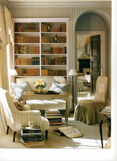 Nice reading area