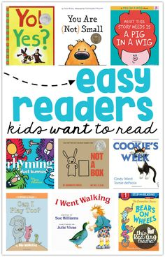 Easy Readers Kids Will Want to Read - This Reading Mama