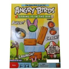 Mattel Angry Birds Exclusive Board Game Spring is in the Air (Toy)  http://www.amazon.com/dp/B007L95UQC/?tag=helhyd-20  B007L95UQC