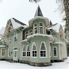 unusual Victorian house