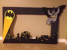 Lego Batman Styrofoam frame $35.00 email me eva.pedraza@gmail.com