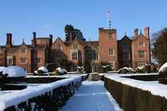 Great Fosters in the snow