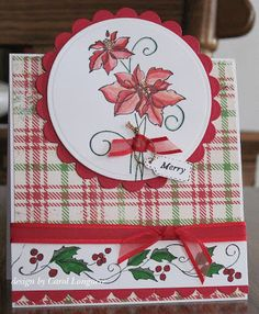 Welcome to another week at Merry Monday ! The idea behind this challenge is to get a head start on your Christmas cards! Each wee...