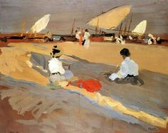 Playa de Valencia. 1906