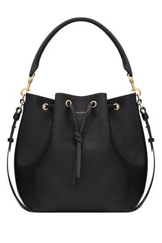 Shop the roomy, unfussy bag of the season! Check out the bucket bag here. saint laurent