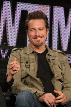 John Corbett. As DJ Chris in Northern Exposure, he could play music and read poetry to me all night long.  As Aidan in Sex and the City, I would push Carrie right out of the way & gladly wear his ugly engagement ring.