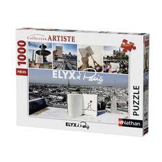 Elyx à Paris, by Yak - 1000 Teile - NATHAN Puzzle