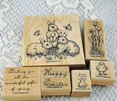 Retired, Mint, Hard to Find Stampin Up Stamp Set, Long Retired Stampin Up