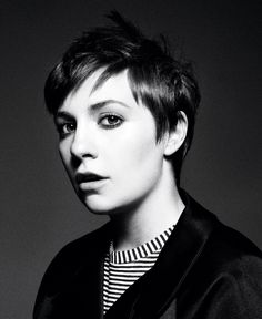 Lena Dunham? Wow, this is mastery of styling.    Photography Gregory Harris  Stylist Elin Svahn
