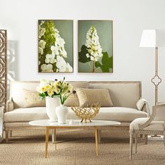 Green art for walls. Like the modern coffee table