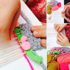 #craftmakeplay #weaving #kidsthatcraft #cocomade