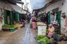 The market in Tetouan, Morocco