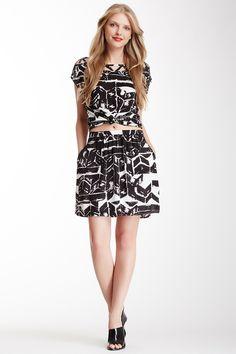 Print Pocket Skirt