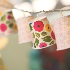 Learn How To Make Party Light Covers And Add A Little Le Your Next Kin Diy Home Decor
