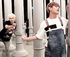 BTS   RAP MONSTER and V