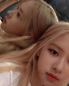 Rose And Rosie, Look Rose, Rose Icon, Rose Park, Jennie Lisa, Park Chaeyoung, Marie Claire, Kpop Girls, Idol