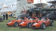 Ferrari team Reims 1958