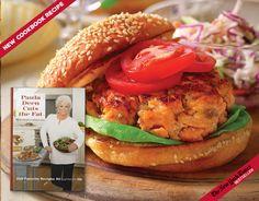 Salmon Burgers with Sun-Dried Tomato Mayonnaise