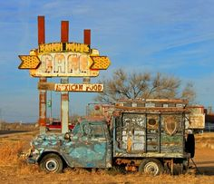 Old ranch house cafe on rt66: