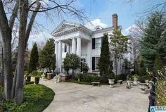 The Jordan Home, a Birmingham landmark built in is for sale. The home was added to the Alabama Register of Landmarks and Heritage in It's located in the Highland Avenue- Rhodes Park historic district, part of the national register of historic places. Magic City, Living In La, Sweet Home Alabama, Birmingham, Beautiful Places, Mansions, Rhodes, Architecture, House Styles